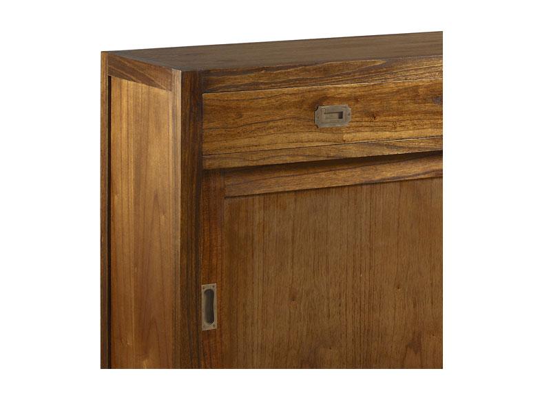 Aparador colonial star 3 cajones 2 puertas correderas - Aparador puertas correderas ...