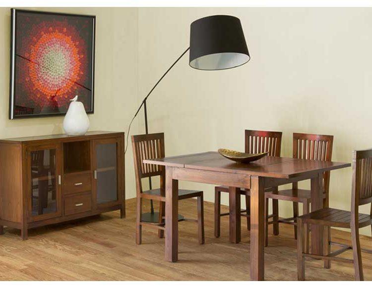 Mesa de Comedor Cuadrada Extensible Central 90 - Original House