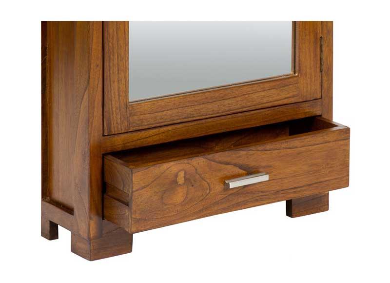 Mueble zapatero colonial con espejo original house for Mueble zapatero ancho