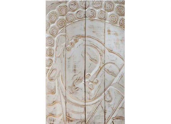 cuadro-buda-madera-tallada-blanco
