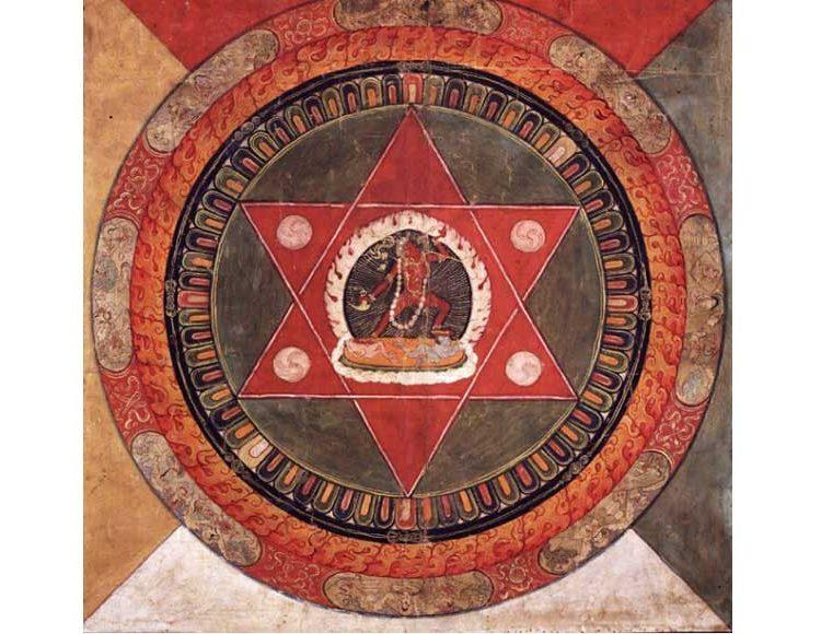 cuadro-oriental-mandala-yoga