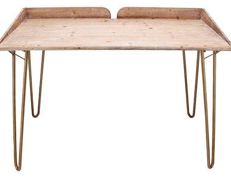 escritorio-sencillo-madera-natural-patas-metal
