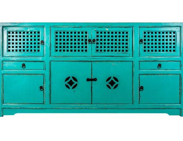 aparador-comedor-oriental-azul-turquesa