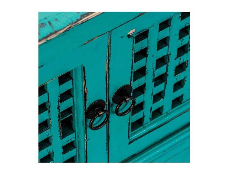 aparador-comedor-oriental-azul-turquesa-detalle