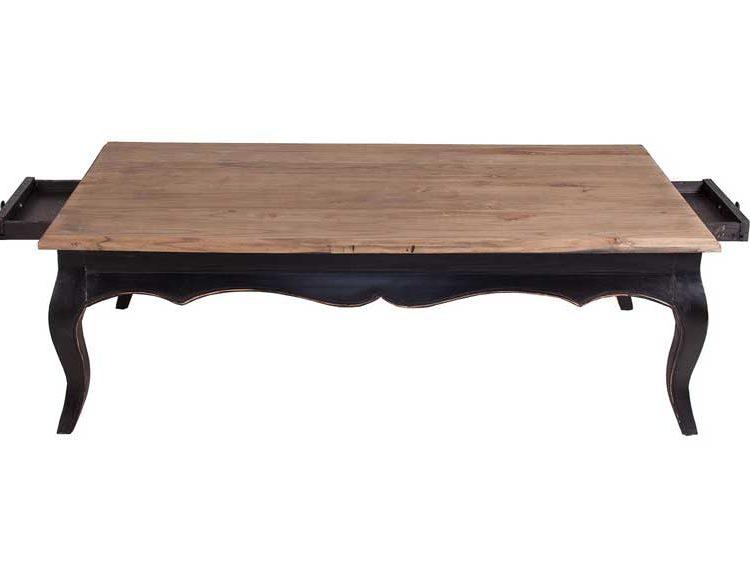 mesa-centro-clasica-actual-madera-natural-negra-cajones