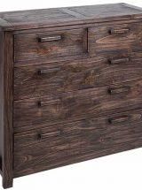 comoda-dormitorio-madera-oscura