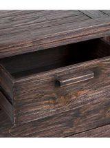 comoda-dormitorio-madera-oscura-cajon