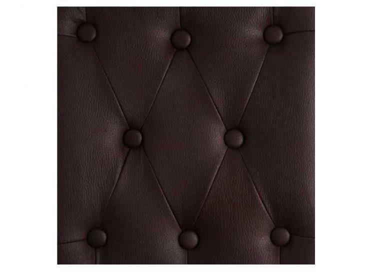 silla-comedor-marron-polipiel-detalle