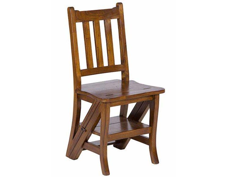 silla-escalera-madera-mindi