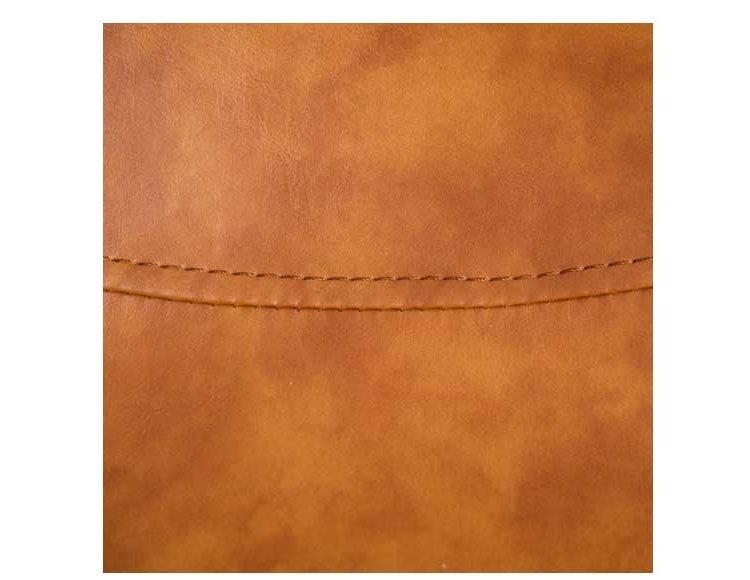 silla-tapizada-polipiel-cuero-metal-detalle