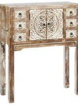 consola-recibidor-etnica-pequeña-madera-natural