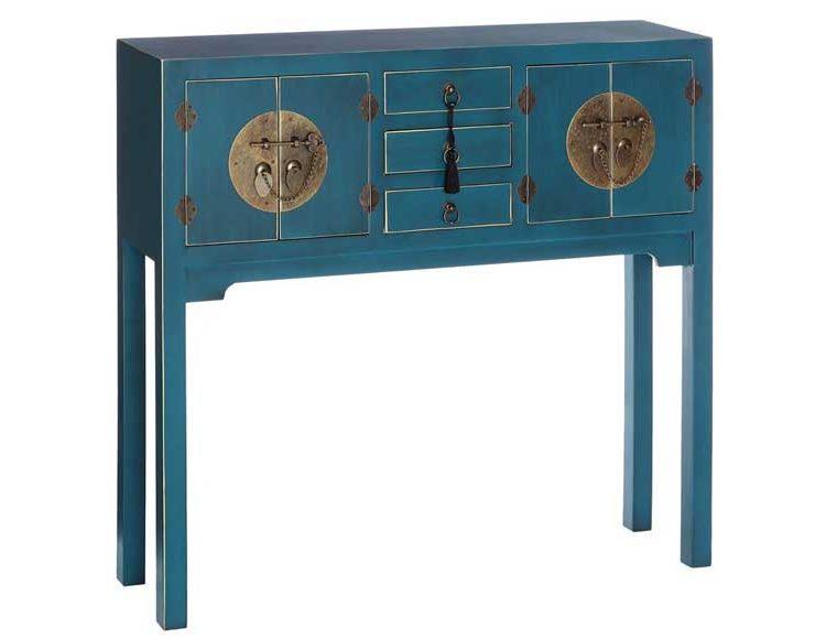 consola-recibidor-oriental-azul