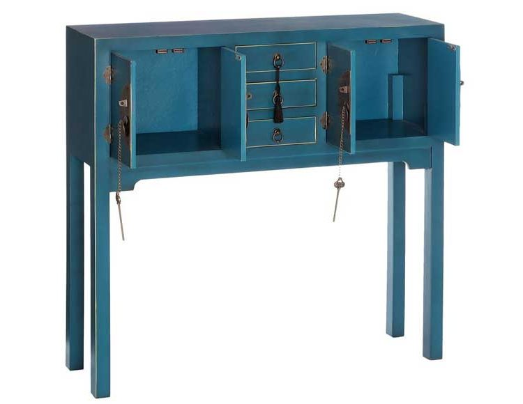 consola-recibidor-oriental-azul-abierta