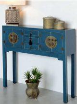 consola-recibidor-oriental-azul-entrada
