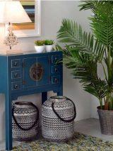 consola-recibidor-oriental-azul-pequeña