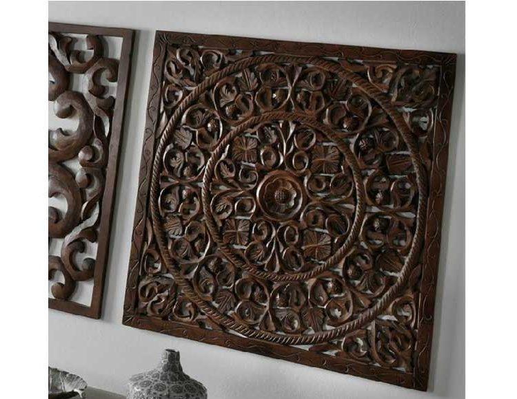 cuadro-mandala-madera-marron