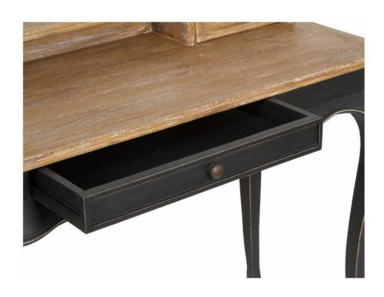 escritorio-clasico-madera-negro-cajon