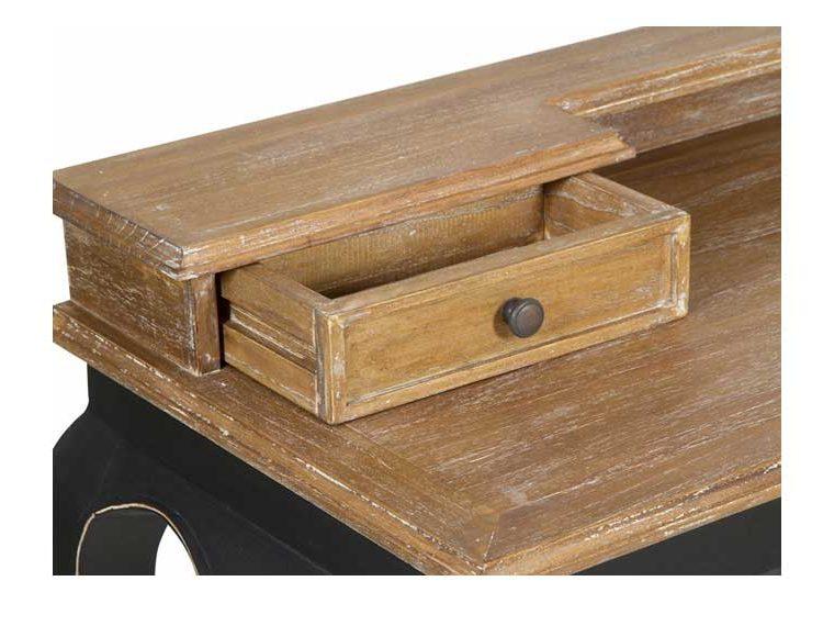 escritorio-clasico-madera-negro-detalle