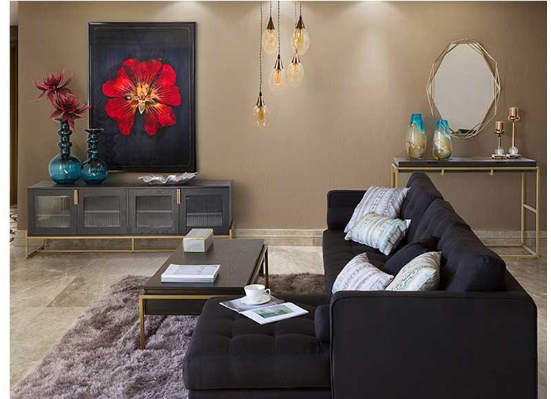 Mesa de centro moderna elevable madera metal original house - Mesa salon moderna ...