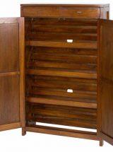 mueble-zapatero-colonial-alto-puertas-abierto