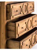 comoda-dormitorio-colonial-madera-pino-cajones