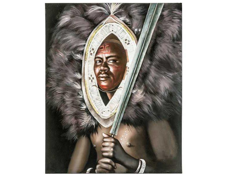 cuadro-guerrero-africano-plumas