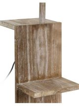 lampara suelo-original-madera-natural-detalle-repisa