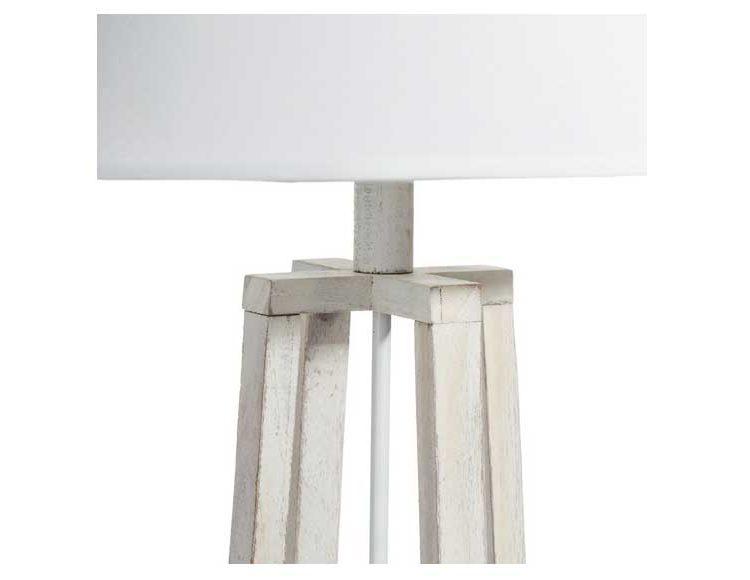 lampara-suelo-tripode-madera-blanca-detalle