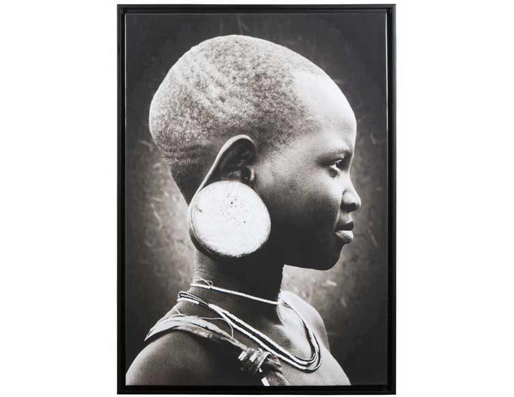 cuadro-fotografia-niña-africana