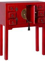 consola-recibidor-oriental-roja-pequeña
