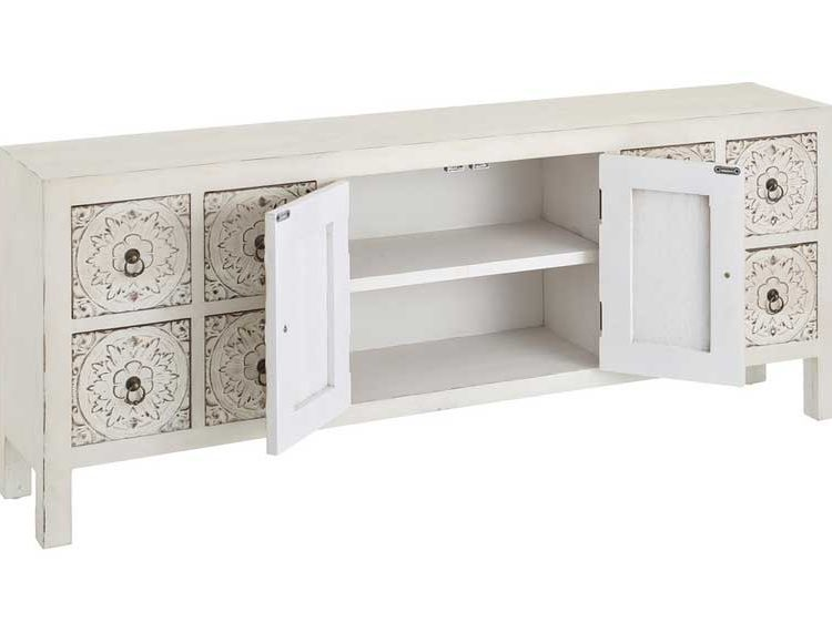 mueble-television-oriental-talla-blanco-abierto