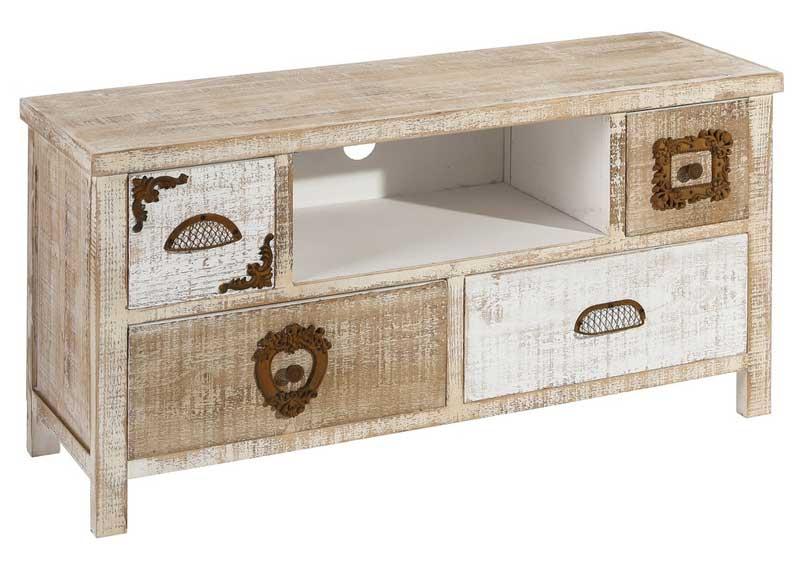 Mueble de televisi n r stico tiradores vintage original house - Tiradores rusticos para muebles ...