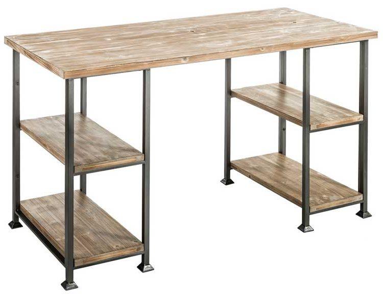 escritorio-madera-metal-industrial