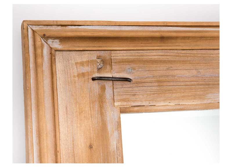 Espejo grande madera natural original house for Espejos grandes de madera