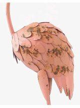 figura-flamenco-rosa-metal-detalle