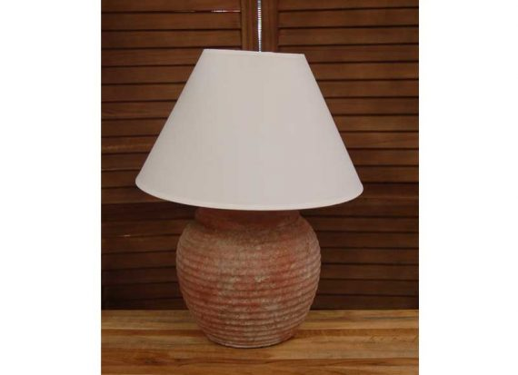 lampara-sobremesa-rayas-terracota