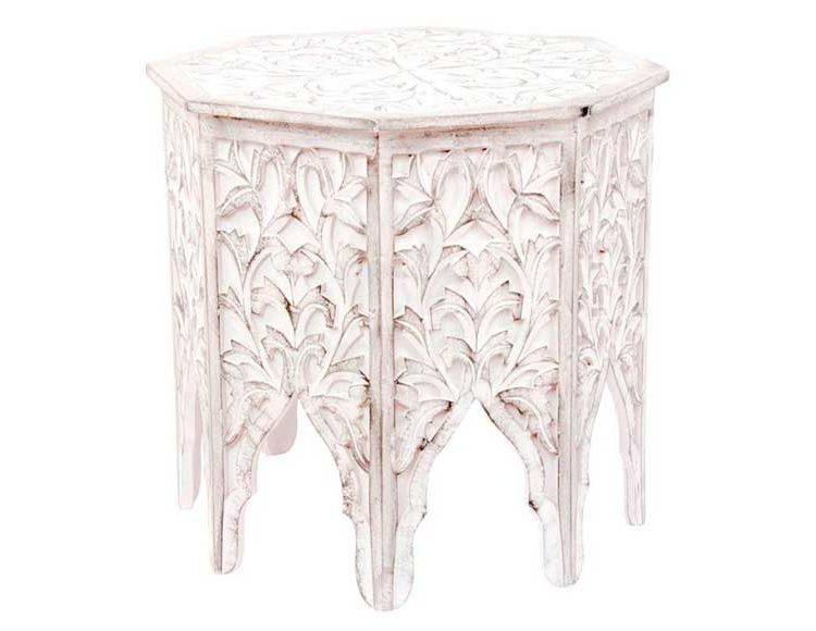 mesa-rincon-arabe-blanca-octogonal