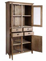 vitrina-nordica-madera-natural-abierta