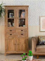 vitrina-nordica-madera-natural-salon
