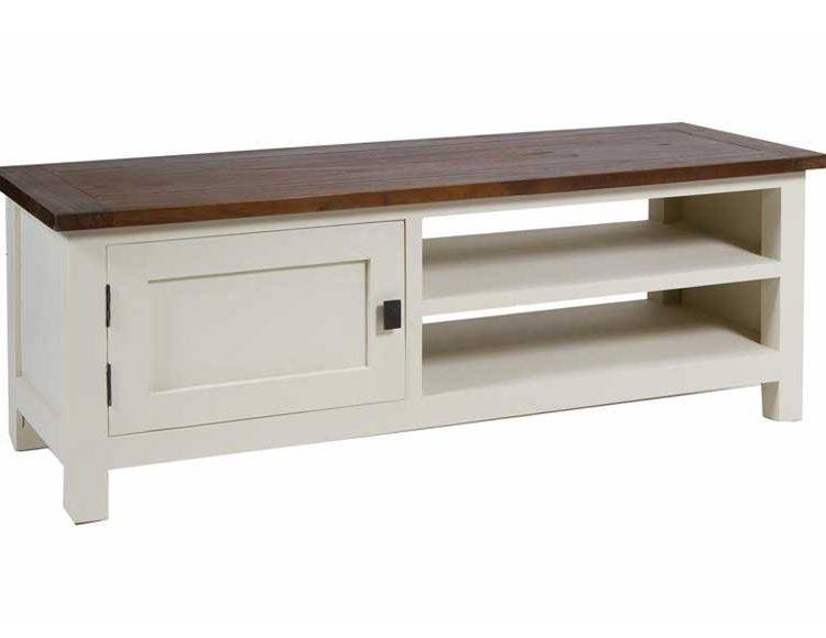 mueble-television-rustico-actual-blanco-marron