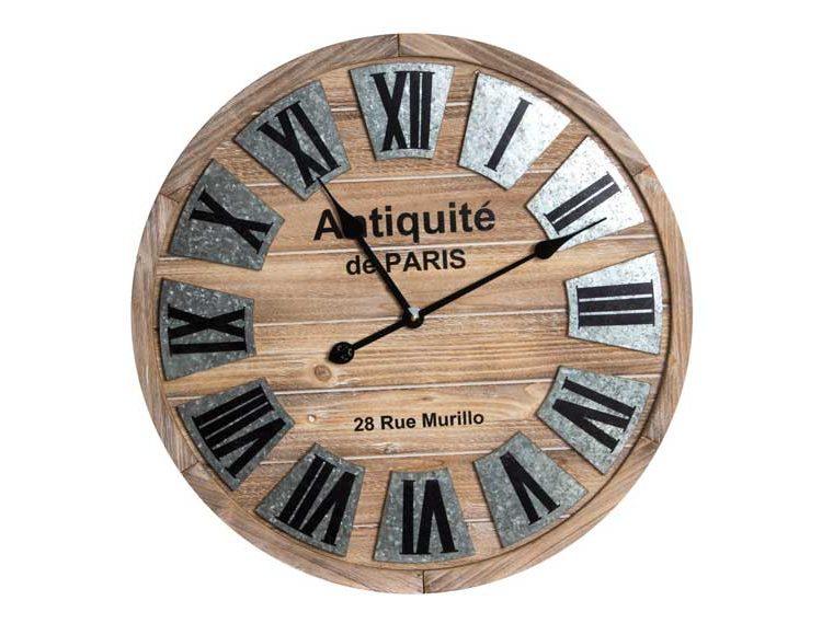 reloj-pared-madera-metal