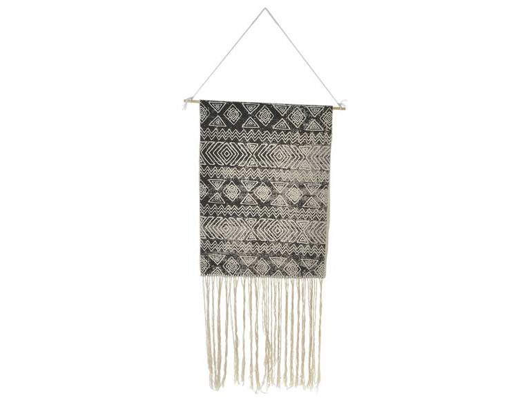 tapiz-pared-boho-blanco-negro