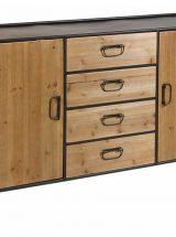 aparador-comedor-industrial-madera-metal