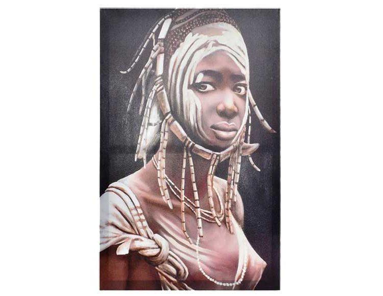 cuadro-mujer-africana-tienda-madrid-originalhouse