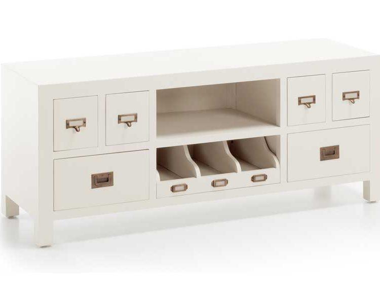 mueble-television-blanco-cajones