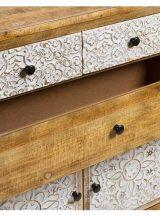 consola-recibidor-etnica-puertas-cajones-detalle