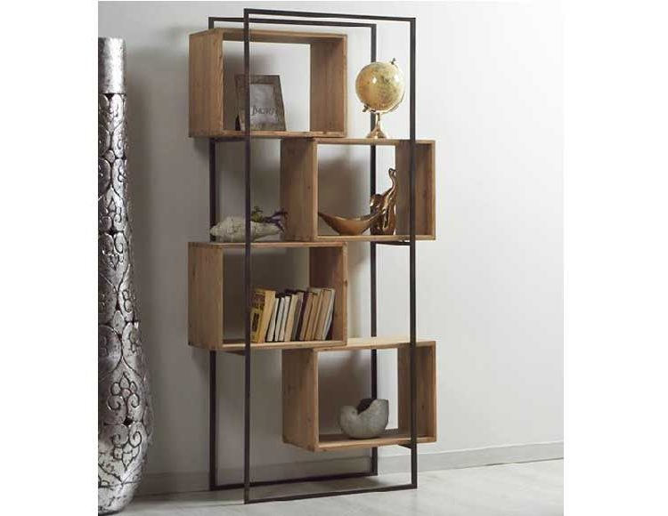 estanteria-industrial-madera-metal-cubos
