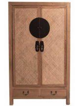 armario-oriental-chino-madera-natural