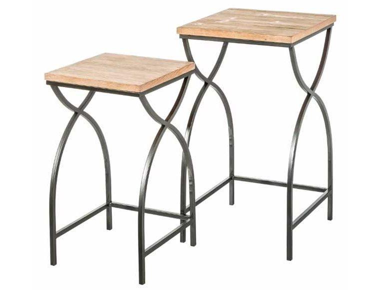 mesas-nido-cuadradas-madera-metal-industrial