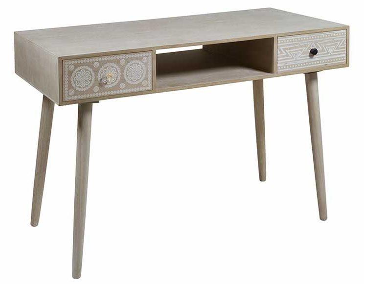 escritorio-boho-madera-clara